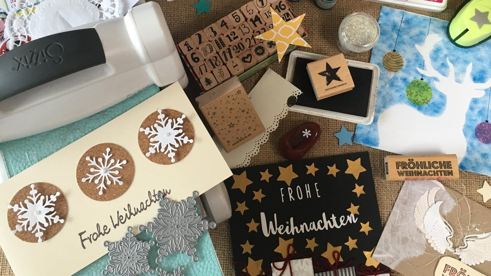 Edle Weihnachtskarten.Edle Weihnachtskarten Familienzentrum Bezirk Affoltern